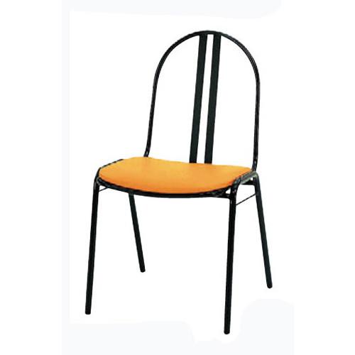 椅子 スチールチェアS-10 [46 x 55 x H81 x SH44cm] SP (7-778-10) 【料亭 旅館 和食器 飲食店 業務用】