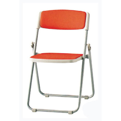 椅子 折り畳み椅子F-930C(布)スチール脚 [51 x 46 x H75 x SH43cm] SP (7-778-6) 【料亭 旅館 和食器 飲食店 業務用】