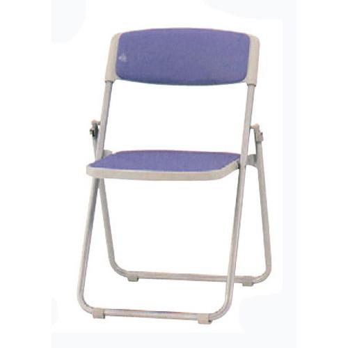 椅子 折り畳み椅子F-930L(レザー)スチール脚 [51 x 46 x H75 x SH43cm] SP (7-778-6) 【料亭 旅館 和食器 飲食店 業務用】