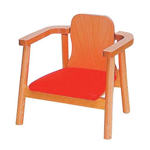 椅子 木製ローチェアーナチュラル [43 x 36 x H43 x SH20cm] 木製品 (7-772-5) 【料亭 旅館 和食器 飲食店 業務用】