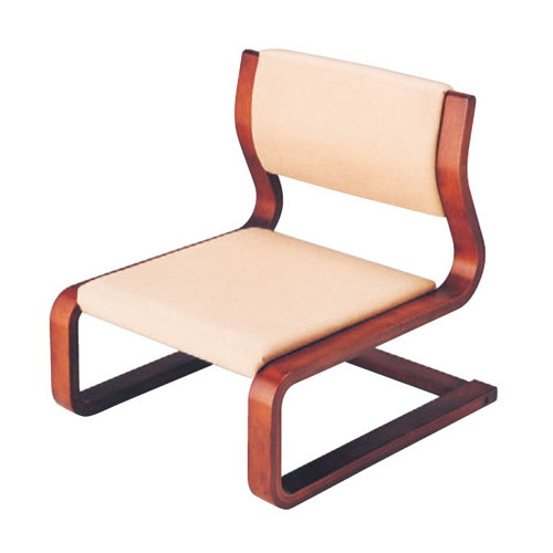 椅子 雅高椅子 23.5H ベージュ(布) [50 x 57 x H56.5 x SH23.5cm] 木製品 (7-770-11) 【料亭 旅館 和食器 飲食店 業務用】