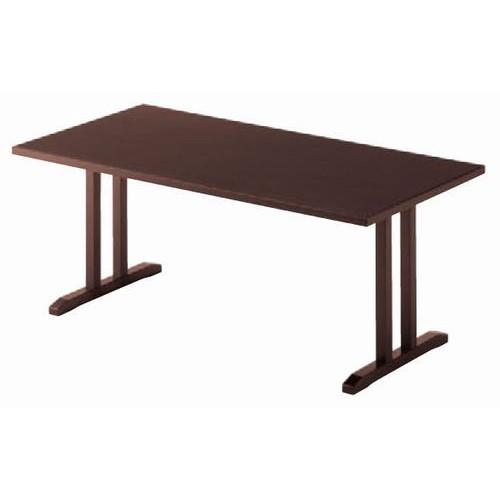テーブル 板脚型テーブルZT9745NA [150 x 75 x H60cm] 木製品 (7-764-6) 【料亭 旅館 和食器 飲食店 業務用】