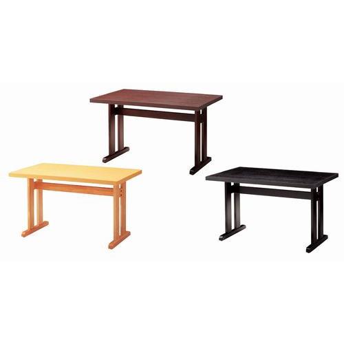 テーブル 立花テーブル65292-0 [150 x 75 x H70cm] 木製品 (7-765-2) 【料亭 旅館 和食器 飲食店 業務用】