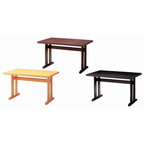 テーブル 立花テーブル65292-1 [120 x 75 x H70cm] 木製品 (7-765-2) 【料亭 旅館 和食器 飲食店 業務用】