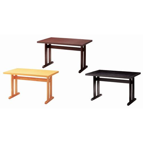 テーブル 立花テーブル65294-1 [120 x 75 x H70cm] 木製品 (7-765-2) 【料亭 旅館 和食器 飲食店 業務用】