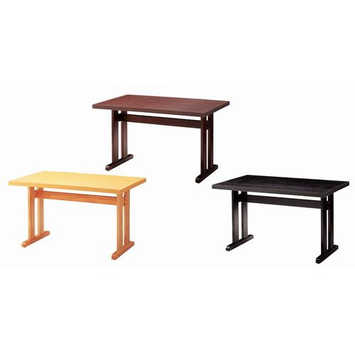 テーブル 立花テーブル65293-5 [60 x 60 x H70cm] 木製品 (7-765-2) 【料亭 旅館 和食器 飲食店 業務用】