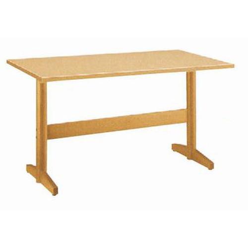 テーブル 板脚型テーブルHTN/八瀬N 9719 [150 x 75 x H70cm] (7-764-4) 【料亭 旅館 和食器 飲食店 業務用】