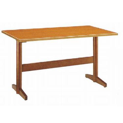 テーブル 板脚型テーブル八瀬K 9749 [150 x 75 x H70cm] (7-764-5) 【料亭 旅館 和食器 飲食店 業務用】