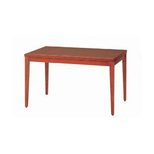 テーブル 和風テーブル6号150-ブラウン [150 x 75 x H70cm] 木製品 (7-764-10) 【料亭 旅館 和食器 飲食店 業務用】
