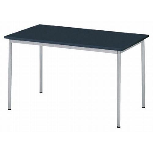 テーブル ワークテーブルWT-1270 120BK [120 x 70 x H70cm] 木製品 (7-766-3) 【料亭 旅館 和食器 飲食店 業務用】