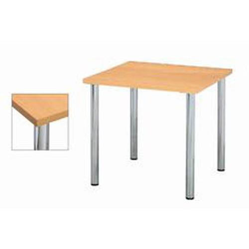 テーブル ミーティングテーブルYMT9090NA [90 x 90 x H70cm] 木製品 (7-765-4) 【料亭 旅館 和食器 飲食店 業務用】