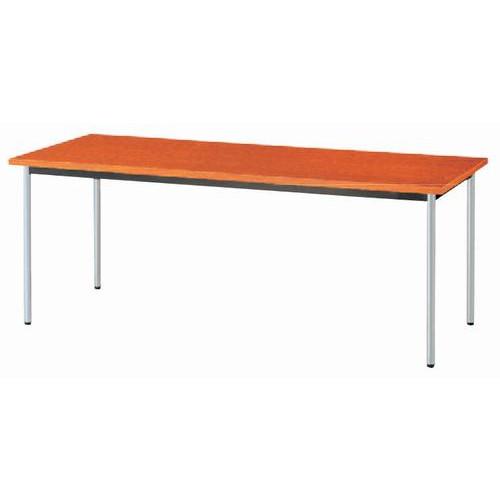 テーブル ミーティングテーブルチークBAM6 [90 x 90 x H70cm] 木製品 (7-766-5) 【料亭 旅館 和食器 飲食店 業務用】