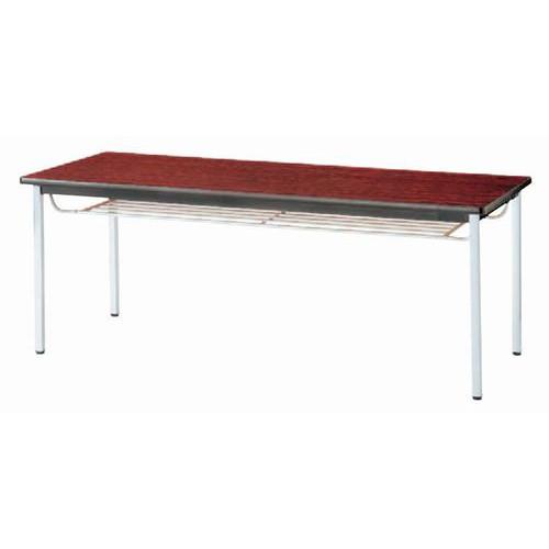 テーブル ミーティングテーブルTK棚付ローズBATK6 [90 x 90 x H70cm] 木製品 (7-766-4) 【料亭 旅館 和食器 飲食店 業務用】