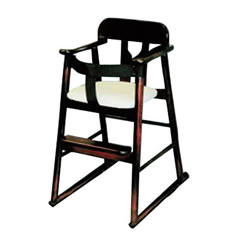 椅子 ブナハイチェアーベルト付 [40 x 43 x H70 x SH45cm] 木製品 (7-772-16) 【料亭 旅館 和食器 飲食店 業務用】