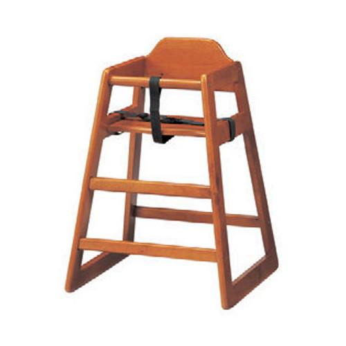 椅子 ベビーチェア(大)NA [52 x 51 x H74 x SH50cm] 木製品 (7-772-3) 【料亭 旅館 和食器 飲食店 業務用】
