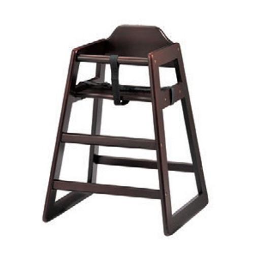 椅子 ベビーチェア(大)DBR [52 x 51 x H74 x SH50cm] 木製品 (7-772-3) 【料亭 旅館 和食器 飲食店 業務用】