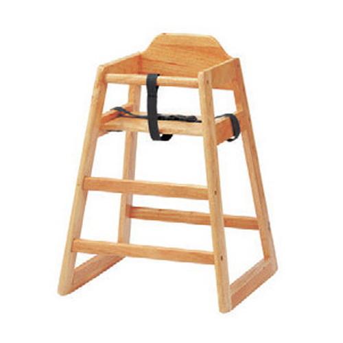 椅子 ベビーチェア(大)BR [52 x 51 x H74 x SH50cm] 木製品 (7-772-3) 【料亭 旅館 和食器 飲食店 業務用】