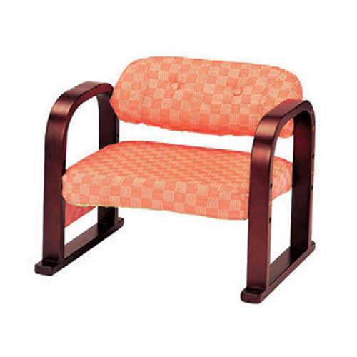 椅子 3段階椅子Cピンク [56 x 46 x H46 x SH22cm ・26cm ・30cm] 木製品 (7-772-1) 【料亭 旅館 和食器 飲食店 業務用】