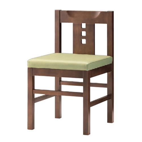 椅子 椅子 コマ [41 x 44 x H71 x SH43cm] 木製品 (7-775-11) 【料亭 旅館 和食器 飲食店 業務用】
