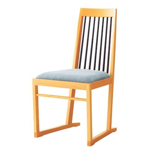 椅子 椅子 格子 NB [46 x 53 x H88 x SH45cm] 木製品 (7-775-20) 【料亭 旅館 和食器 飲食店 業務用】