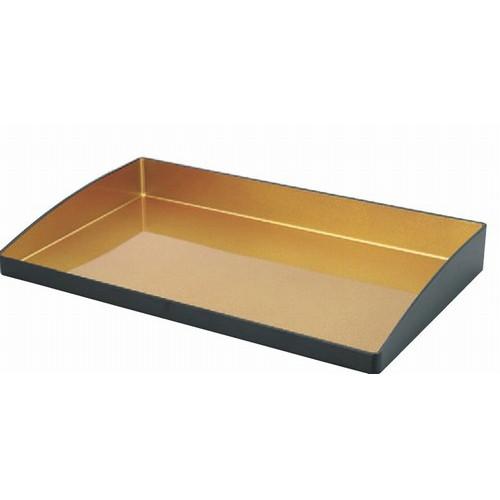 トレー マルチトレーL黒内金 [59.5 x 35.5 x 7cm] ABS樹脂 (7-135-4) 【料亭 旅館 和食器 飲食店 業務用】