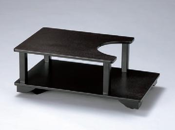 灰皿 ポットワゴンうるみ石目 [60 x 37 x 23cm] 木製品 (7-908-39) 【料亭 旅館 和食器 飲食店 業務用】
