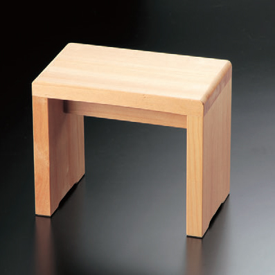 風呂用品 風呂椅子コの字型(小) [30 x 18 x 25cm] 木製品 (7-916-5) 【料亭 旅館 和食器 飲食店 業務用】