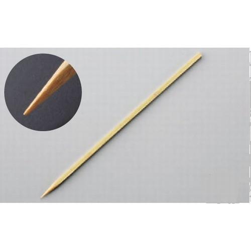 串・つま楊枝・保存容器 魚串(0.5×0.5) 36cm(400本束) [36cm] 竹 (7-994-7) 【料亭 旅館 和食器 飲食店 業務用】