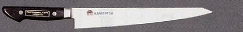 包丁 モリブデン鋼 筋引 240mm (7-964-22) 【料亭 旅館 和食器 飲食店 業務用】