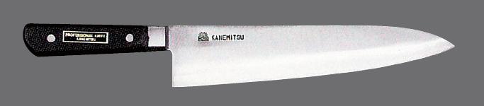 入荷中 包丁 洋出刃 210mm (7-964-19) 【料亭 旅館 和食器 飲食店 業務用】, 西田さんご商 24074bac