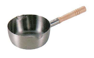 鍋 ロイヤル雪平鍋 IH 18cm [17.5φ x 7cm] アルミ (7-965-3) 【料亭 旅館 和食器 飲食店 業務用】