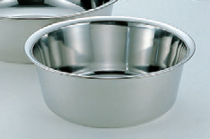 ボール・バット 18-0洗い桶 ステンレス 33cm [33φ x 12.5cm] ST (7-966-4) 【料亭 旅館 和食器 飲食店 業務用】