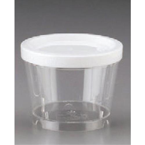 串・つま楊枝・保存容器 保存容器 NB-40S 420cc 1梱 200個入 [10.5φ x 8.2cm] (7-994-20) 【料亭 旅館 和食器 飲食店 業務用】