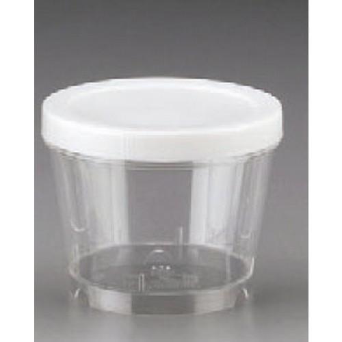 串・つま楊枝・保存容器 保存容器 NB-40S(密閉) 420cc 1梱 200個入 [10.5φ x 8.2cm] (7-994-26) 【料亭 旅館 和食器 飲食店 業務用】