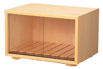 客室用品 フードボックス白木スノコ付 [34 x 25 x 21.5cm] 木製品 (7-906-5) 【料亭 旅館 和食器 飲食店 業務用】