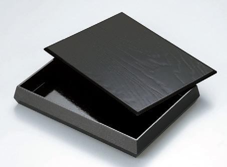 客室用品 ダイヤ型文庫黒木目 [31 x 23.2 x 5cm] 木製品 (7-906-8) 【料亭 旅館 和食器 飲食店 業務用】