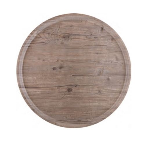 ラウンドトレー ビンテージ (大) [ 45φ x 1.6cm ] [ お盆 ] | 飲食店 社食 学食 配膳 ホテル 和食 業務用
