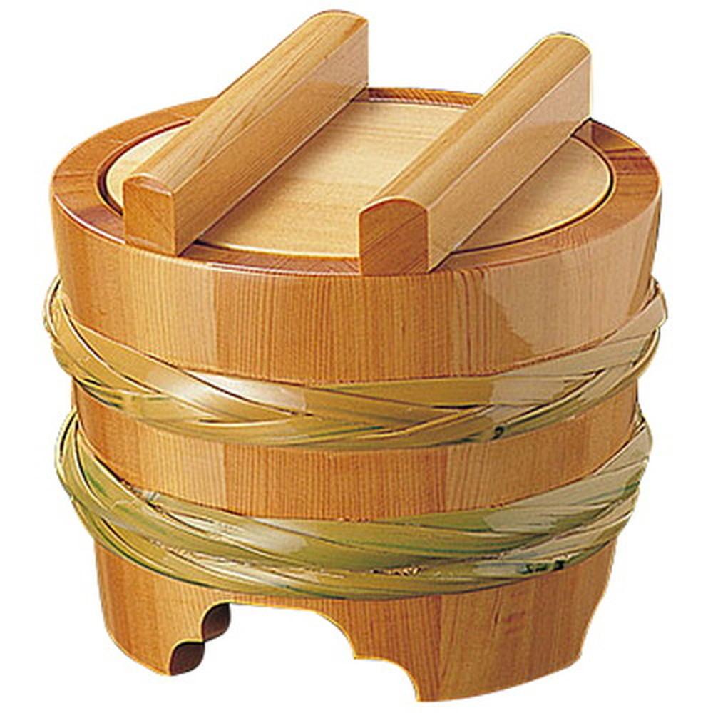 椹・釜揚桶 小 (ST-18) [ 約Φ18 x H16cm ] 【 うどん桶 】 | 飲食店 和食 うどん屋 蕎麦 麺 手打ち 厨房 業務用