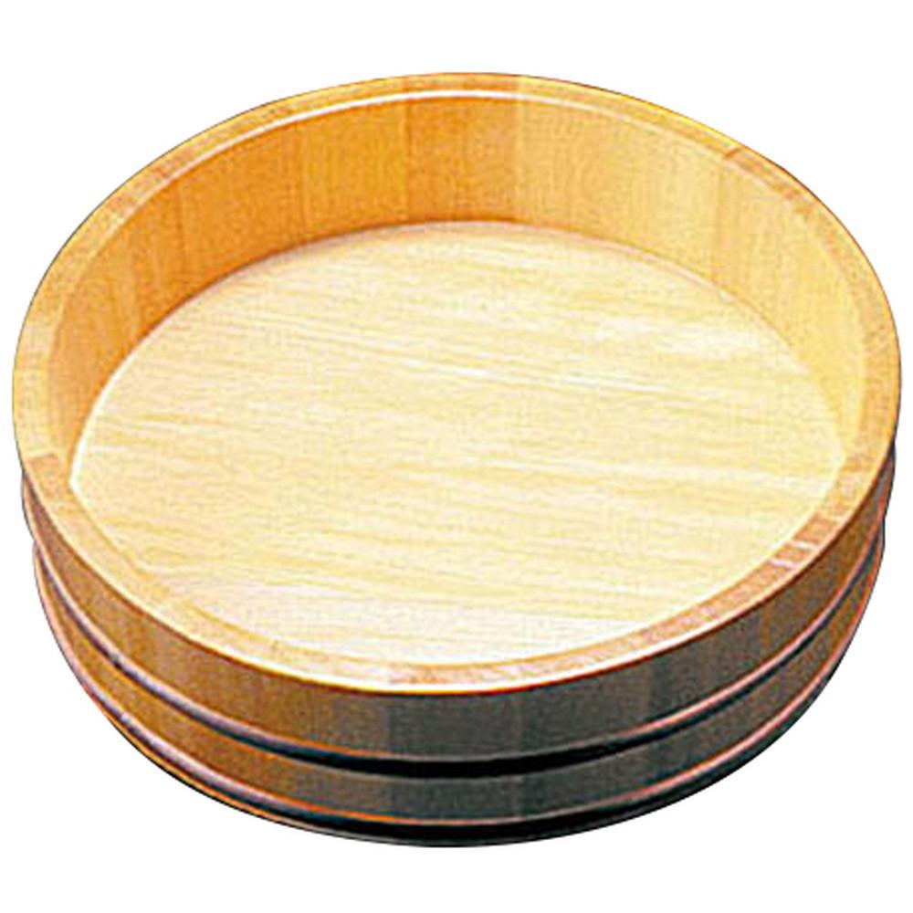 椹・冷むぎ桶 8寸 (S-8) [ 約Φ24 x H6.5cm ] 【 うどん桶 】 | 飲食店 和食 うどん屋 蕎麦 麺 手打ち 厨房 業務用