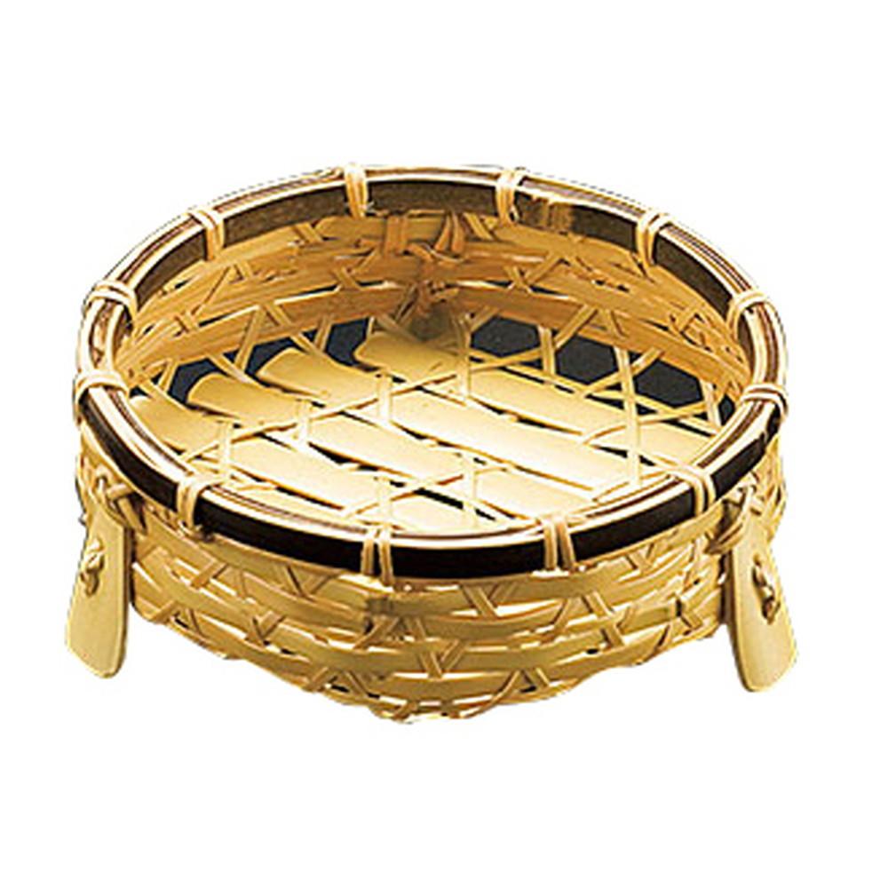 オードブル皿 (虎渕) 小 [ 約Φ14 x H5cm ] 【 竹製品 】 | 旅館 料亭 ホテル 飲食店 和食 和食器 業務用