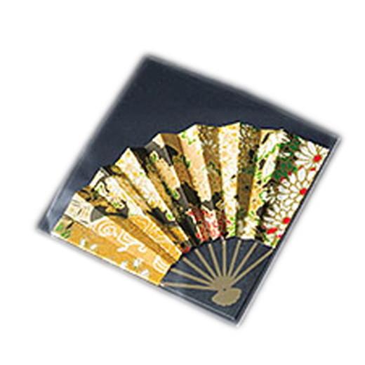 ふーでこ飾り扇子 (50ケ入) 金友禅 [ 約6.5 x 6.5cm ] 【 演出小物 】 | 正月 元旦 お節 お祝い 業務用 自宅用