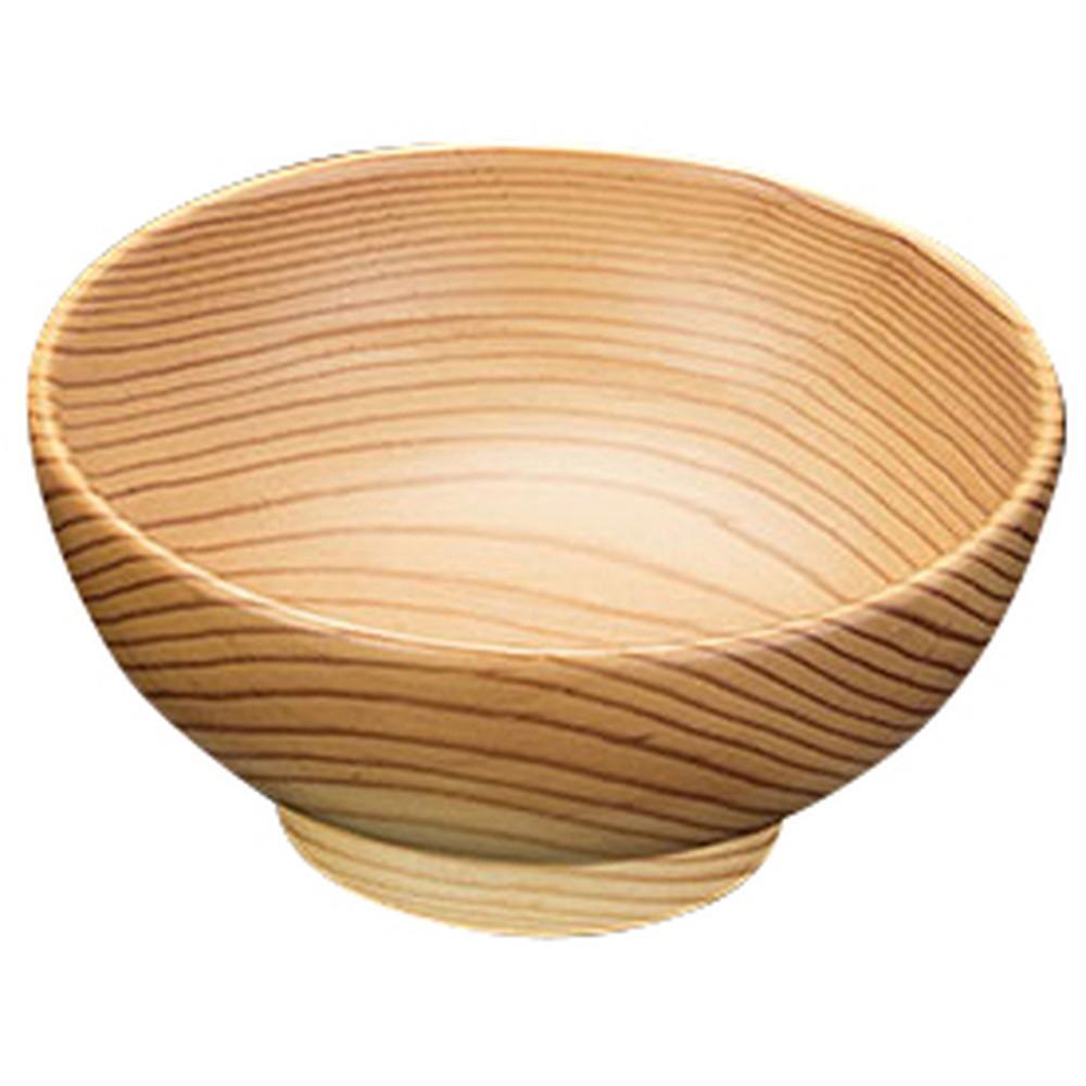 赤松・木製椀 6寸どんぶり [ 約Φ18 x H8.5cm ] 【 飯器 】 | 和食 和食器 旅館 料亭 ホテル 飲食店 業務用