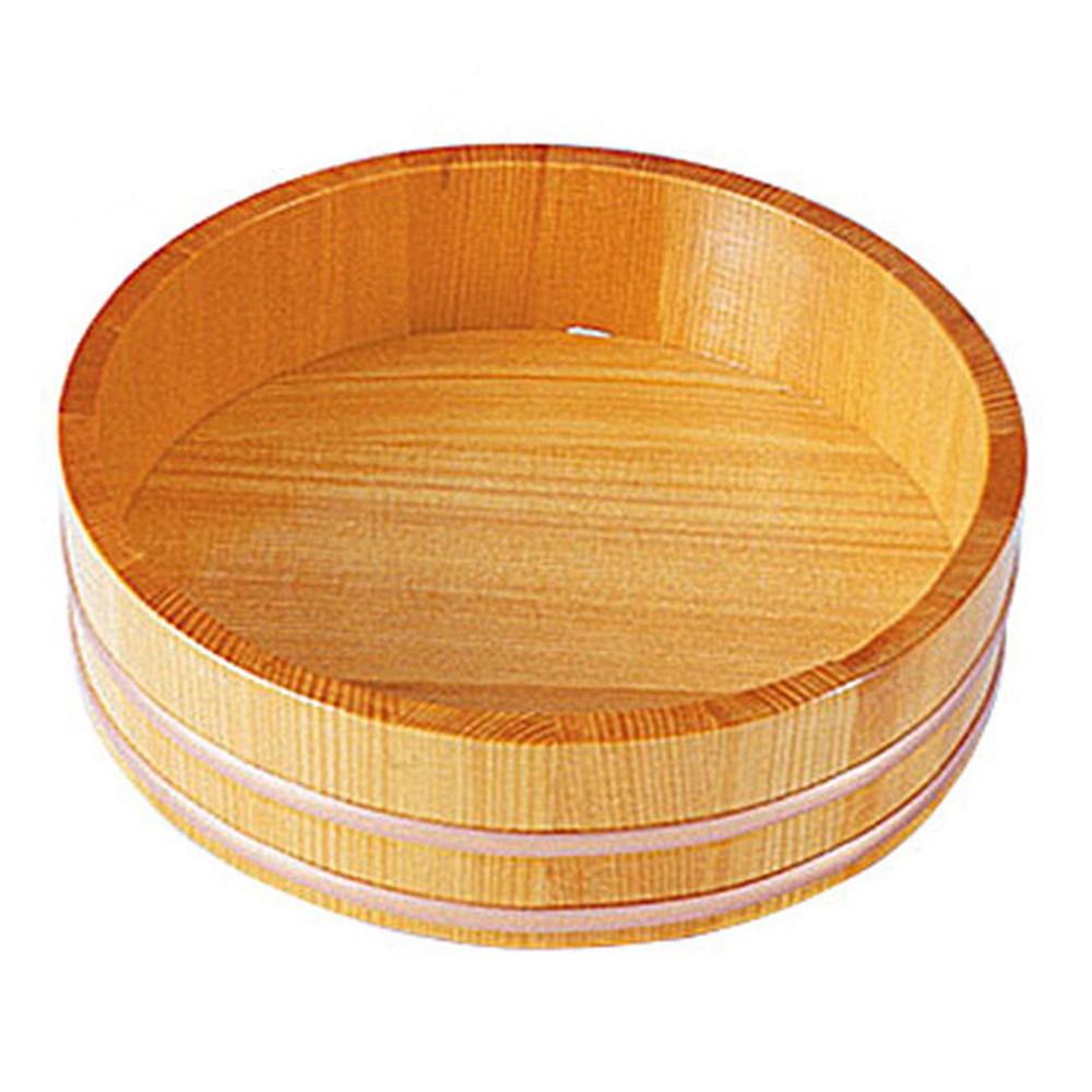 椹・盛桶 (目皿なし) 8寸 [ 外寸:Φ24 x H6.2cm ] 【 盛桶 】 | 和食 和食器 旅館 料亭 ホテル 飲食店 寿司 業務用