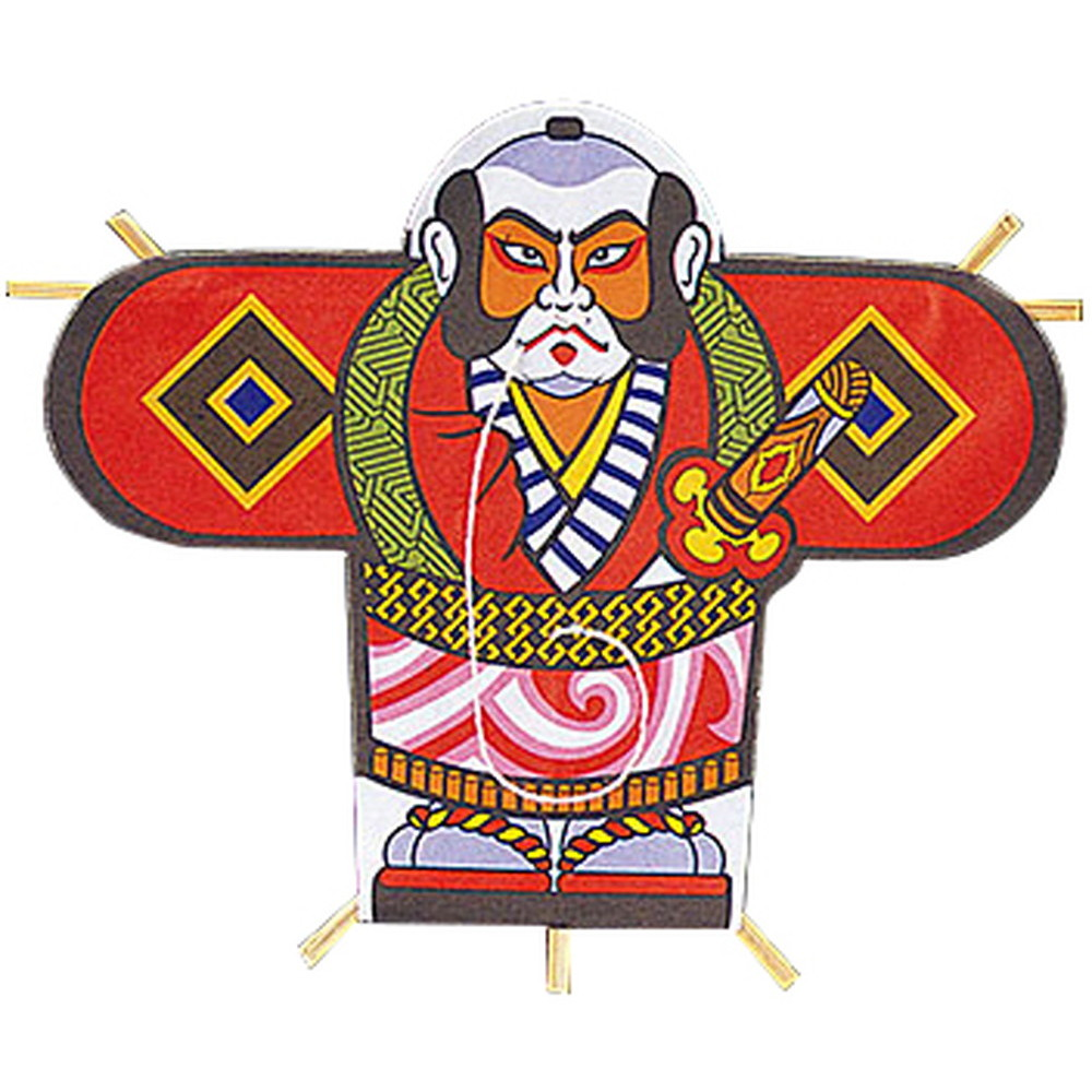 ミニ凧 (100枚入) 奴凧 [ 約10.8 x 8.5cm ] 【 演出小物 】 | 正月 元旦 お節 お祝い 業務用 自宅用