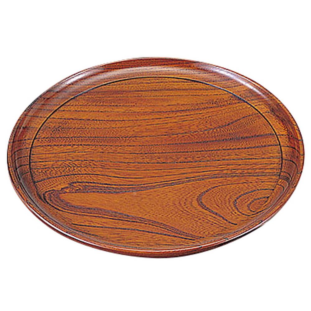欅・青葉盆 (九寸) [ 約Φ27 x H2.1cm ] 【 お盆 】 | 飲食店 自宅用 キッチン 和食 定食 業務用