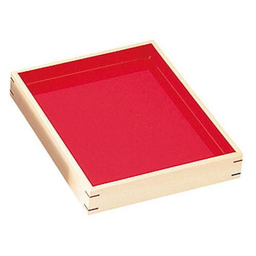 デリカバット薄型 (白木) [ 約26 x 31.7 x H5cm ] 【 デリカバット 】   店舗 陳列 和食 什器 業務用