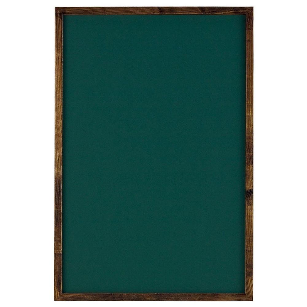 カラーチョークボード (L) 緑色 [ 約60 x 90 x 厚み:3cm ] 【 サインボード 】 | 飲食店 カフェ 店舗 看板 宣伝 メニュー 業務用