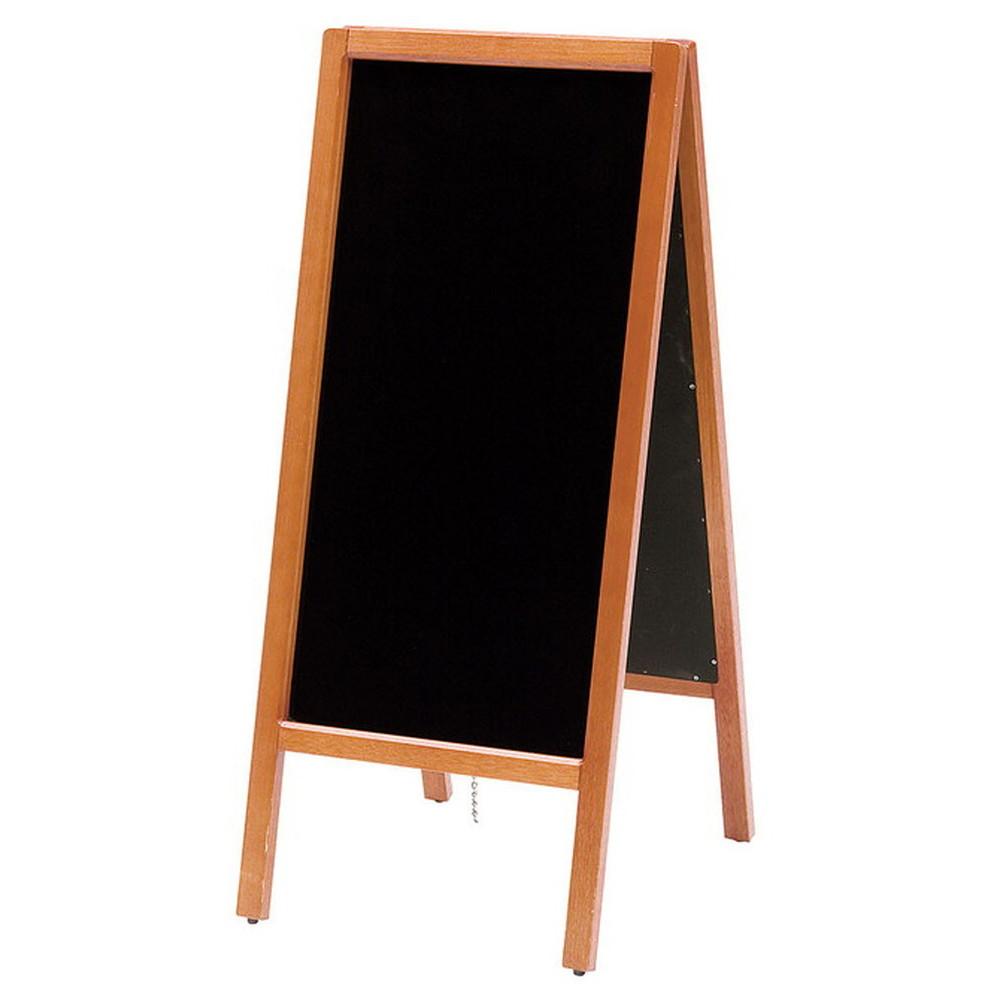 A型看板・スリムタイプ マーカー仕様 [ 約45 x 45 x H105cm ] 【 店舗用品 】   飲食店 カフェ 店舗 看板 宣伝 入口 業務用