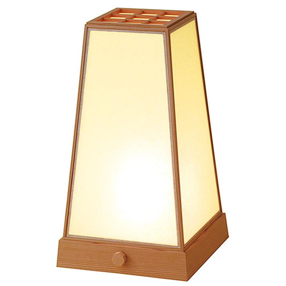 室内行灯 台形 (調光スイッチ付) [ 約19.5 x 20.5 x H34.5cm ] 【 行灯 】 | 照明 インテリア 和室 旅館 料亭 ホテル 飲食店