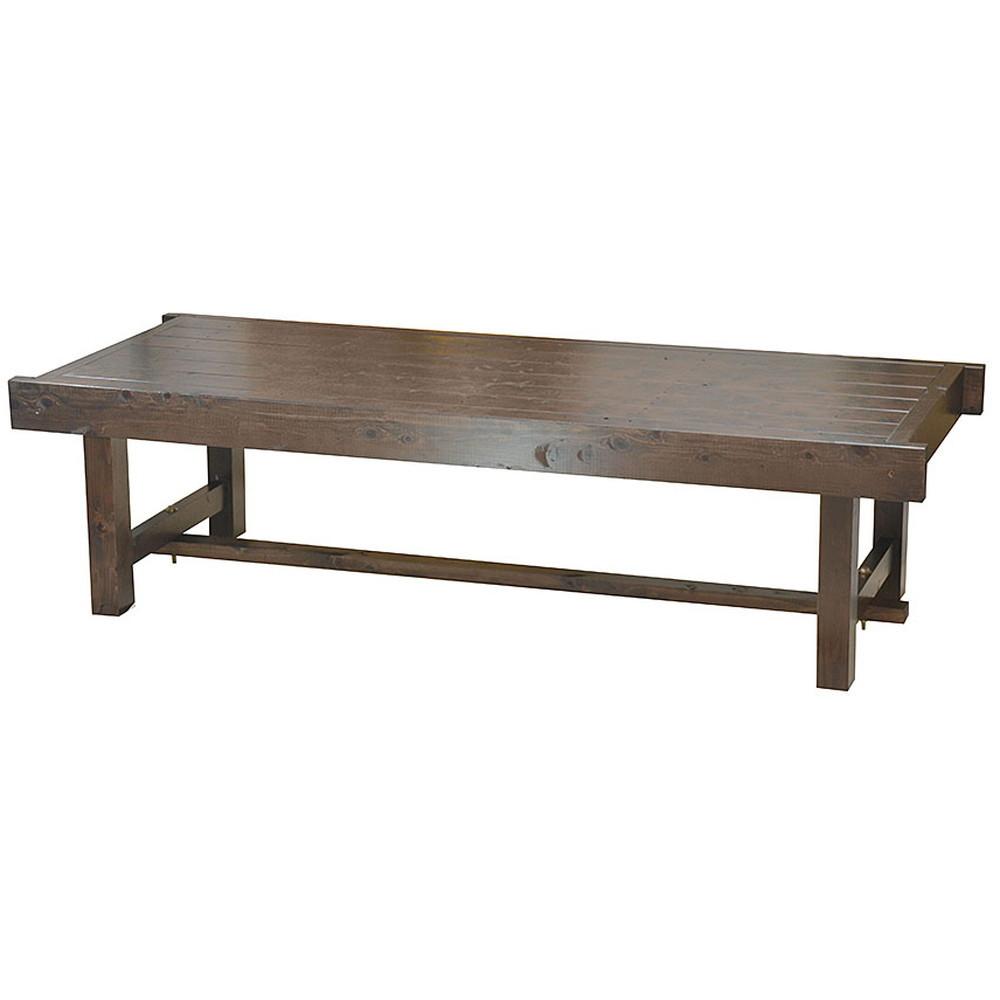 桧 床机 (古代色) 中 [ 約150 x 60 x H40cm ] 【 床机 】 | 料亭 旅館 温泉 日本家屋 縁側